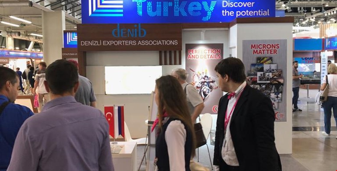DENİB Presented Denizli Machinery Sector in Russia